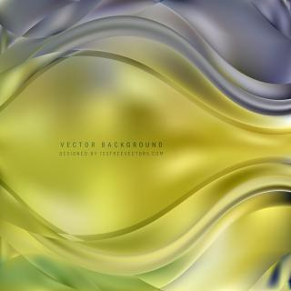 Abstract Blue Green Curve Background