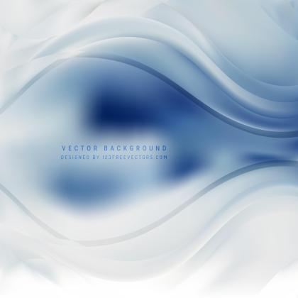 Abstract Light Blue Wavy Background