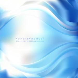 Cobalt Blue Wave Background