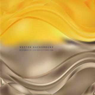 Brown Orange Wave Design Background