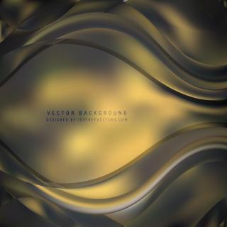 Abstract Dark Color Wave Design Background