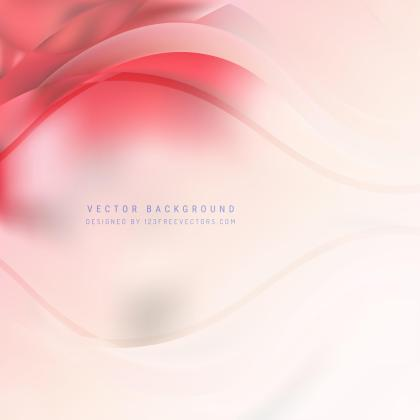 Abstract Light Pink Wave Background Template