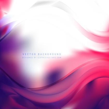 Purple Pink Curve Background
