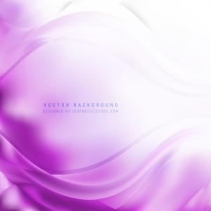 Abstract Light Purple Wave Background