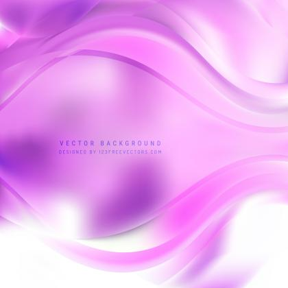 Abstract Light Purple Wave Design Background