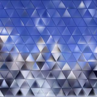 Blue Gray Triangle
