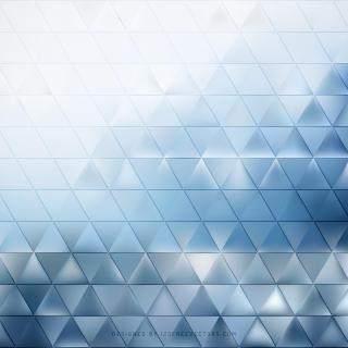 Light Blue Triangle Background Illustrator