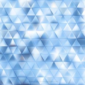 Light Blue Triangle Background