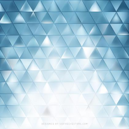 Light Blue Triangle Background Template