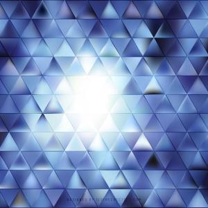 Dark Blue Triangle Background Clip Art