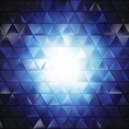 Dark Blue Triangle Background Design