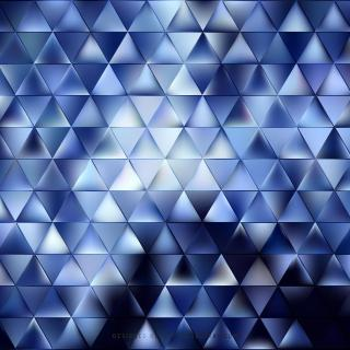 Dark Blue Triangle Background Vector