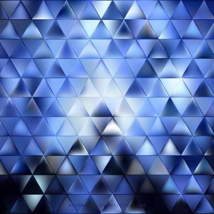 Dark Blue Triangle Shape Background