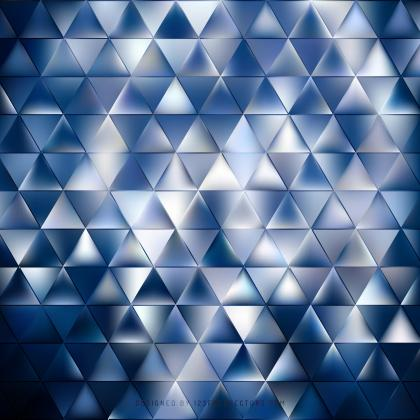 Abstract Dark Blue Triangle