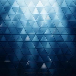 Abstract Dark Blue Triangle Pattern