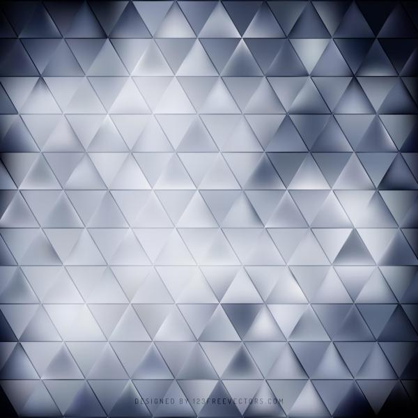 Abstract Dark Blue Triangle Background Pattern