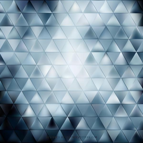 Abstract Dark Blue Triangle Vector Background