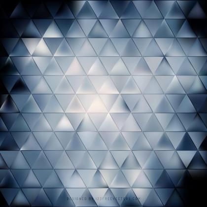 Abstract Dark Blue Triangle Background Image