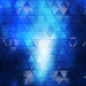 Abstract Navy Blue Triangle Background