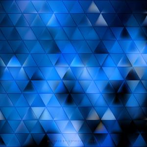Abstract Navy Blue Triangle Background Template