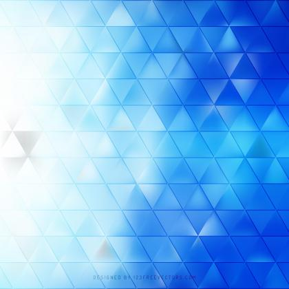Abstract Cobalt Blue Triangle Background Graphics