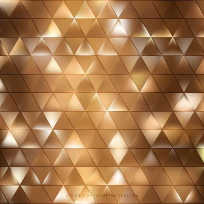 Brown Geometric Triangle Pattern