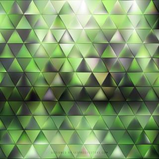 Abstract Dark Green Triangle