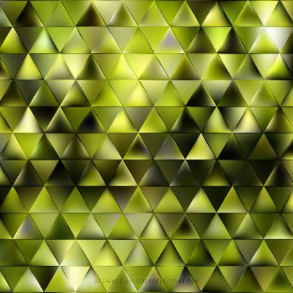 Abstract Yellow Green Triangle Background Image