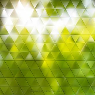 Abstract Yellow Green Triangle Background Illustrator