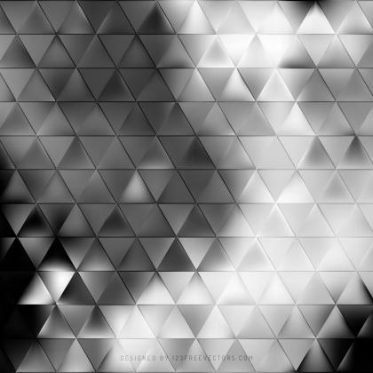 Black and Gray Triangle Background Pattern