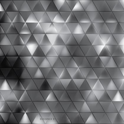 Dark Gray Triangle Background