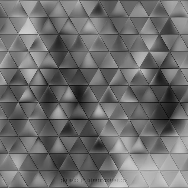 Dark Gray Triangle Background Template