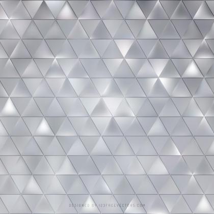 Gray Triangle Background Design