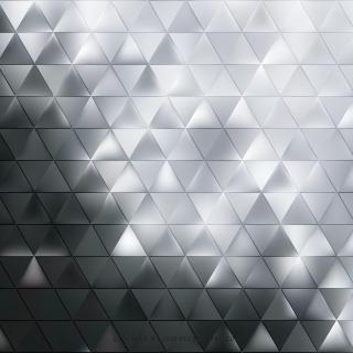 Gray Triangle Shape Background