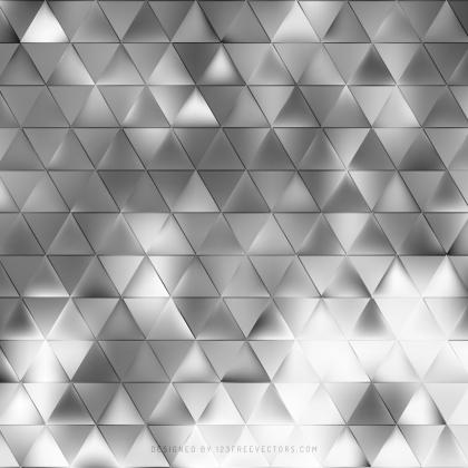 Abstract Gray Triangle Background Pattern
