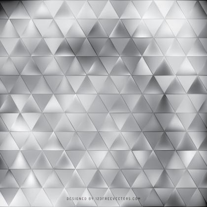 Abstract Gray Triangle Vector Background