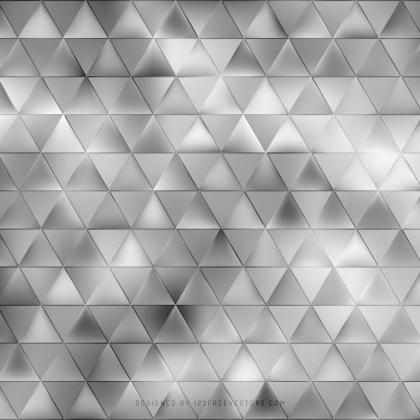 Abstract Gray Triangle Background Template
