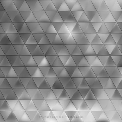 Abstract Gray Triangle Background Design