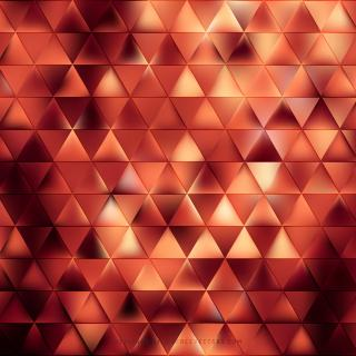 Dark Orange Triangle Background Pattern