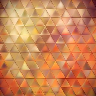 Dark Orange Triangle Background Image