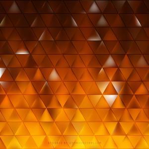 Dark Orange Triangle Background Illustrator