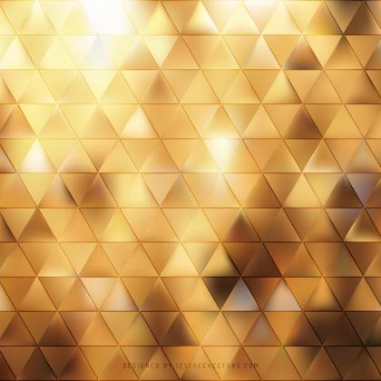 Abstract Orange Triangle Vector Background