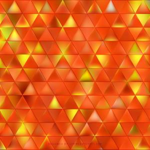 Cool Orange Triangle Background Image