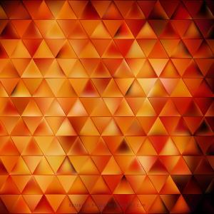 Cool Orange Triangle Background Illustrator