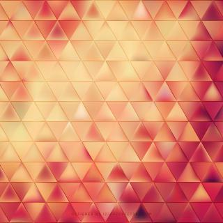Yellow Pink Triangle Background Template