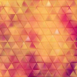 Yellow Pink Triangle Background Graphics