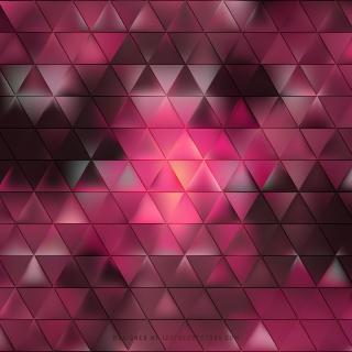 Dark Pink Triangle Background Design