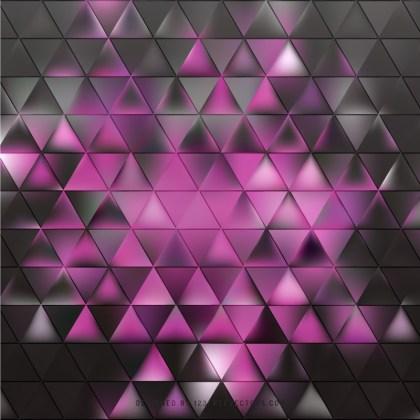 Dark Pink Triangle Background Vector