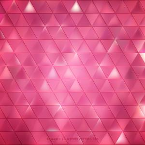 Abstract Pink Triangle Vector Background