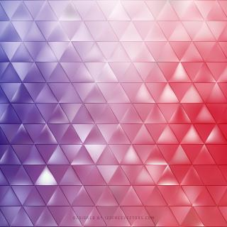 Abstract Purple Red Triangle Background
